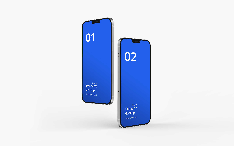 iPhone 12 概念设计样机下载designshidai_yj547