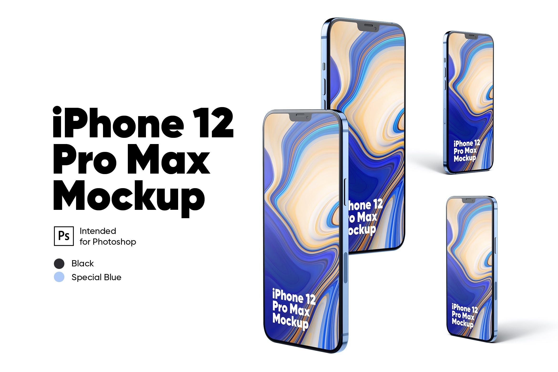 iPhone 12 Pro 手机设计样机designshidai_yj545