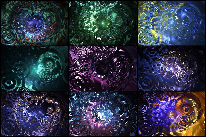 50个时尚高端抽象液体背景底纹纹理集合designshidai_beijing118
