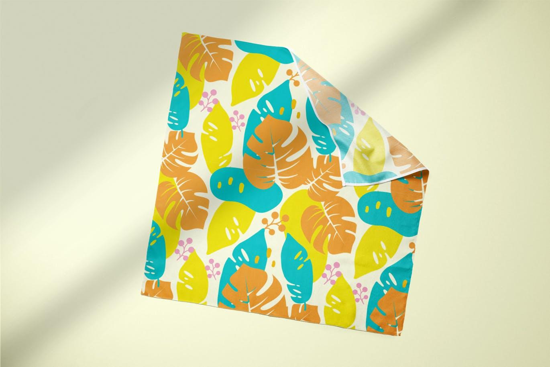 高品质的夏季热带雨林风格矢量无缝背景底纹纹理集合designshidai_beijing130