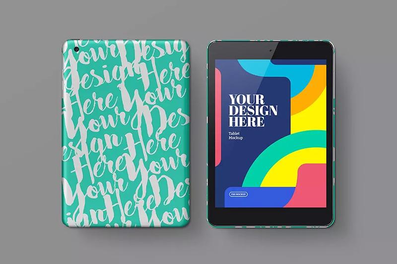 平板电脑屏幕&保护套设计样机designshidai_yj500