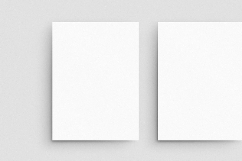 阴影影子效果品牌VI设计文具样机designshidai_yj503