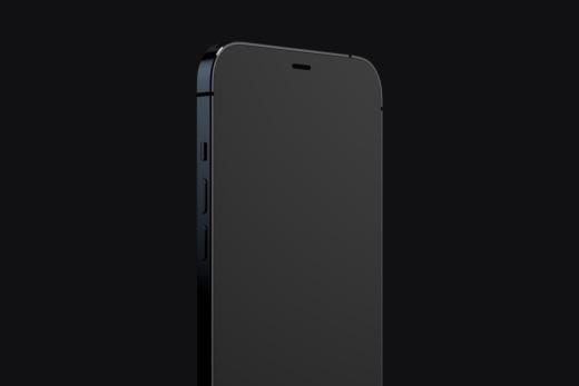 最新苹果iphone12手机APP UI设计贴图提案PSD模板designshidai_yj567