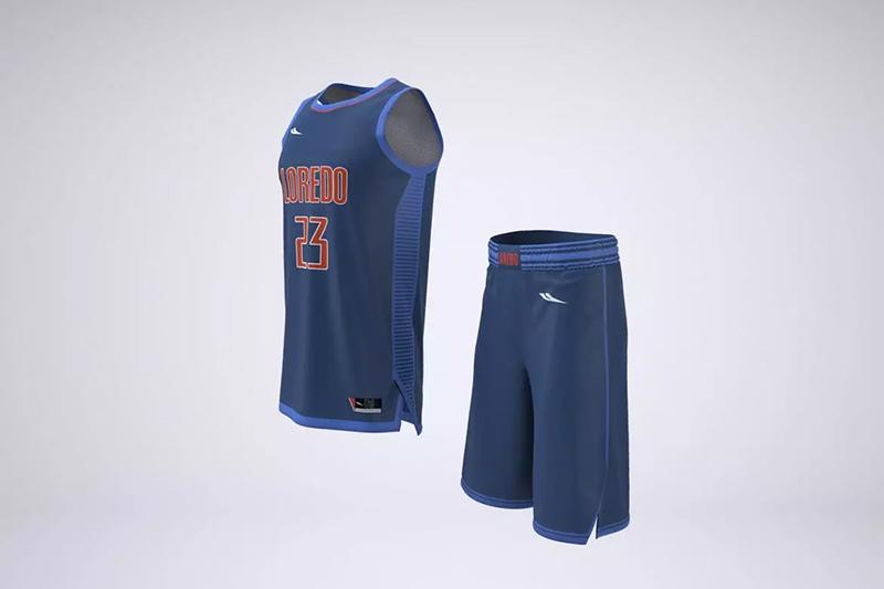 篮球队队服品牌/运动衣服短装Logo设计样机designshidai_yj491