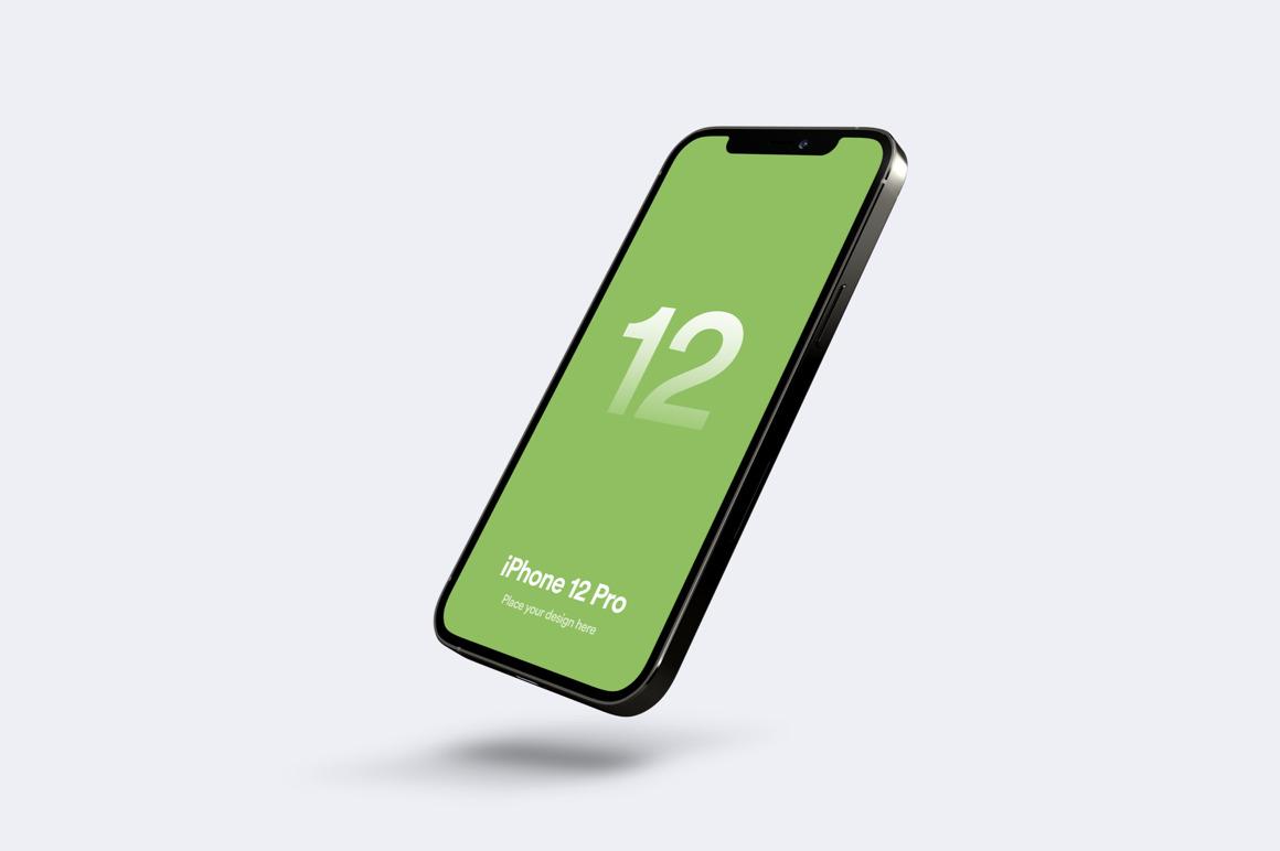 新鲜好用的 iPhone 12 Pro 手机样机下载designshidai_yj544