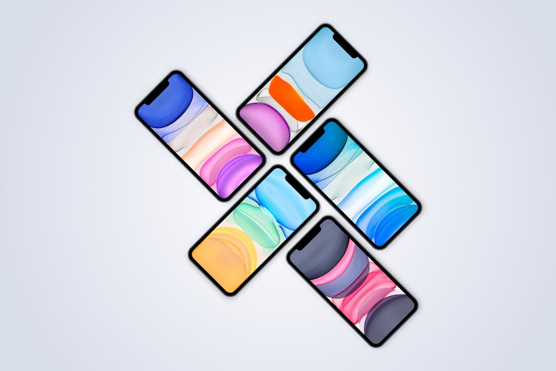 时尚高端专业的高品质iPhone 11 Pro APP UI样机展示模型mockups-sketch designshidai_yj532
