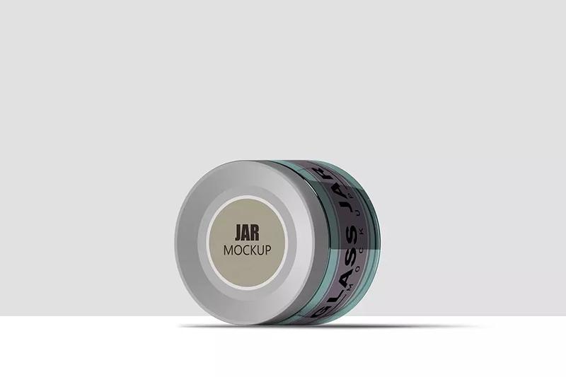 正侧翻转多面化妆品罐模型广告样品designshidai_yj595