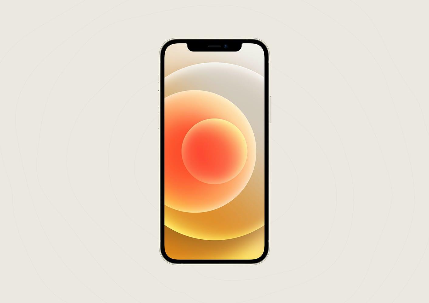 iPhone 12 手机样机designshidai_yj533