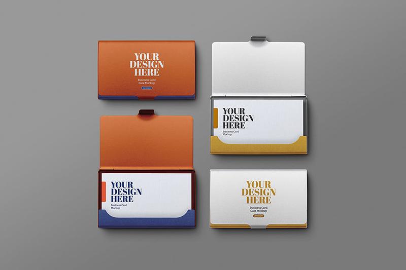 金属名片夹展示样机designshidai_yj583