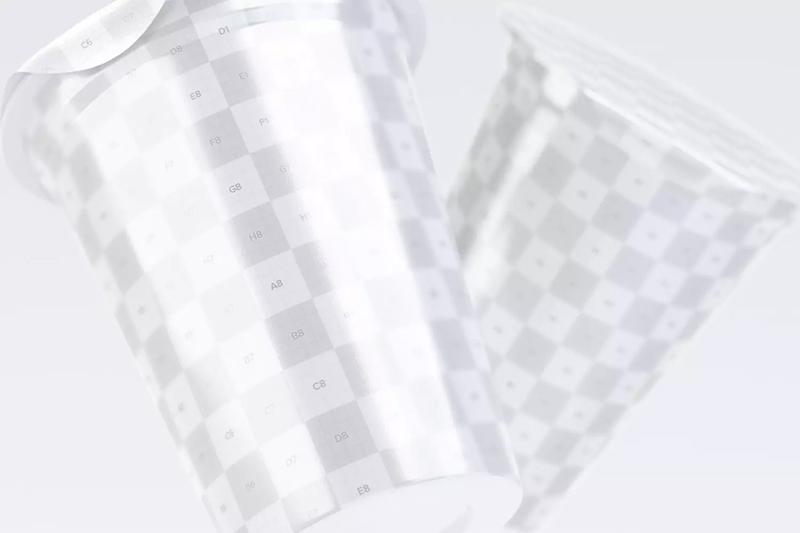 150克酸奶杯包装特写样机designshidai_yj603