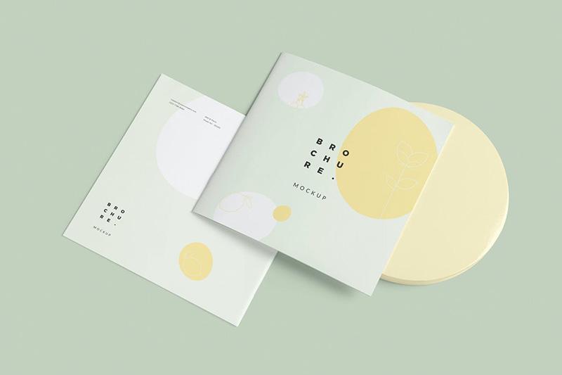 软封面方形小册子设计效果图样机designshidai_zazhi050