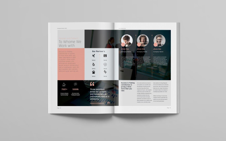 时尚高端专业的高品质商业商务手册宣传册画册杂志房地产楼书设计模板designshidai_yj623