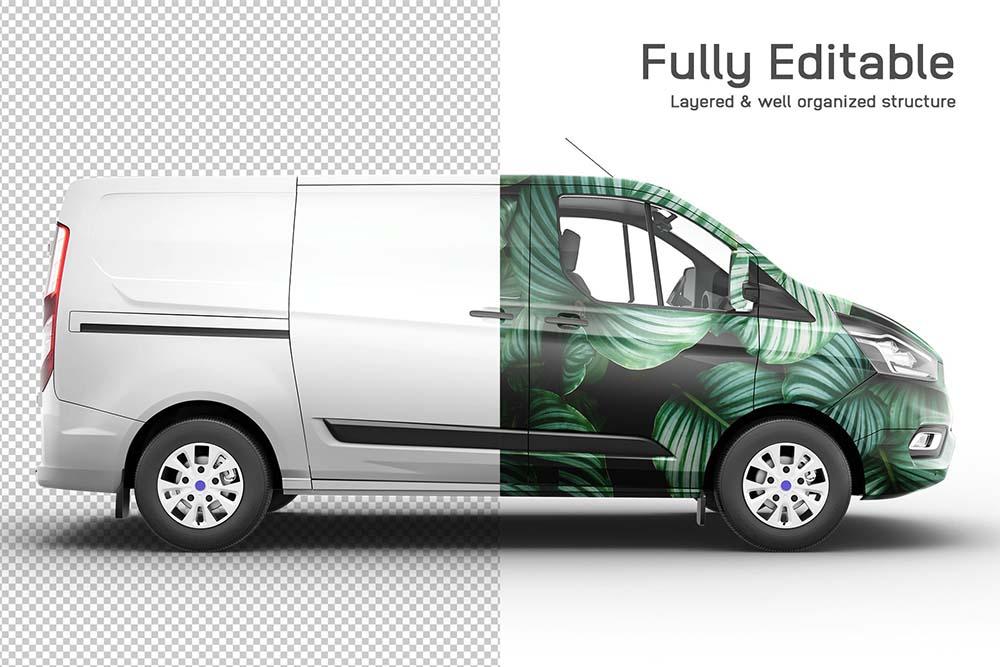 福特全顺汽车品牌设计样机designshidai_yj670