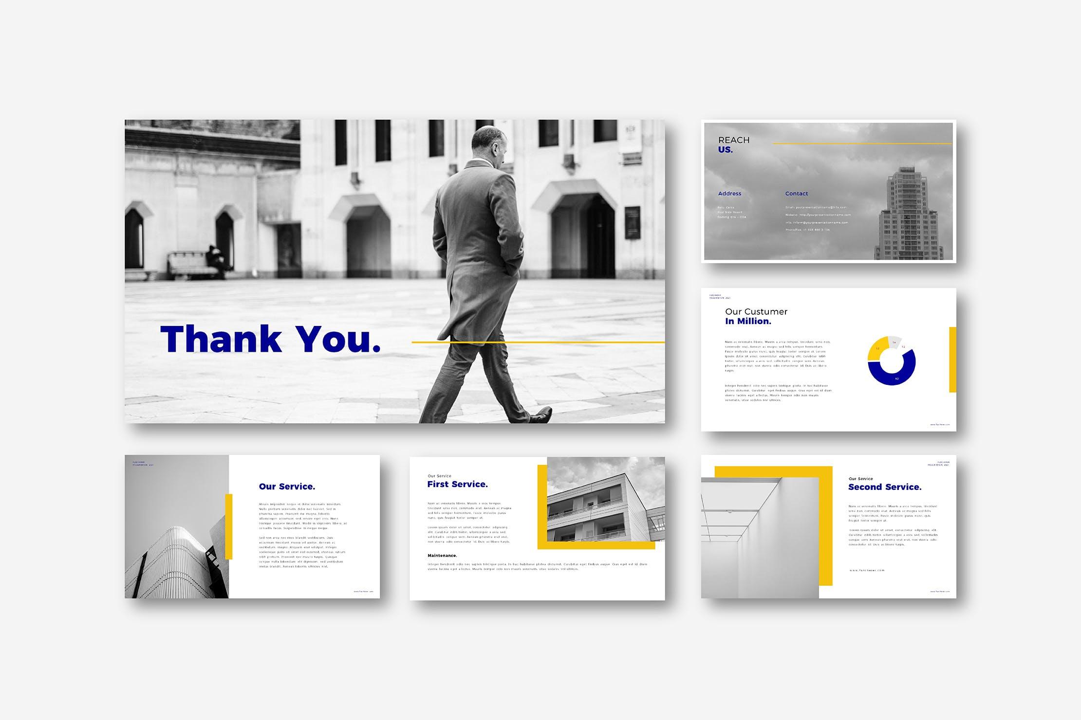 简约专业的商务风格PPT模板designshidai_ppt0143
