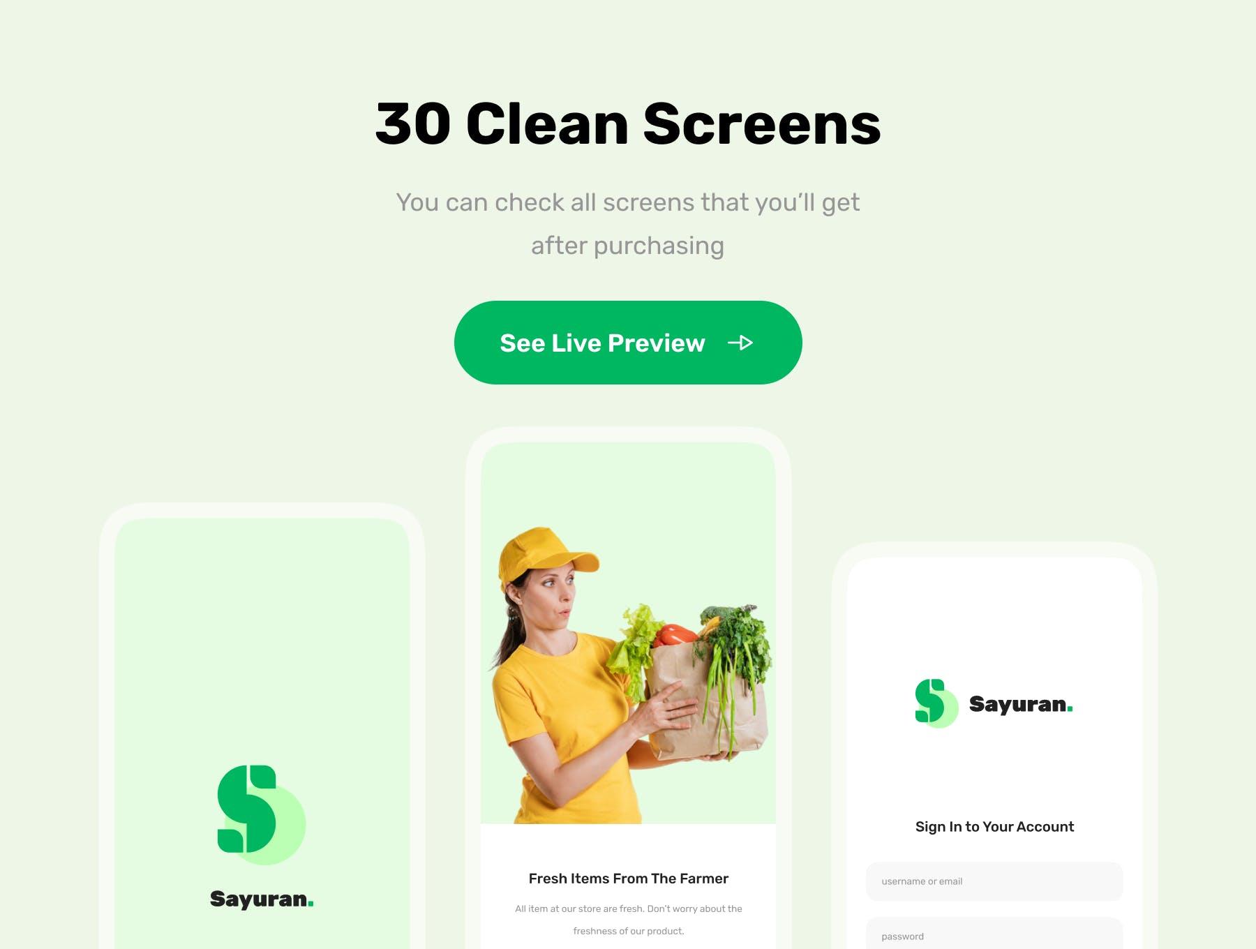 在线购买生活社区团购服务杂货店Apps UI Kit设计模板素材 designshidai_ui223