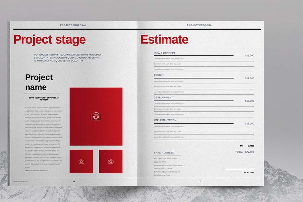 商业项目投标/建议书模板designshidai_yj616