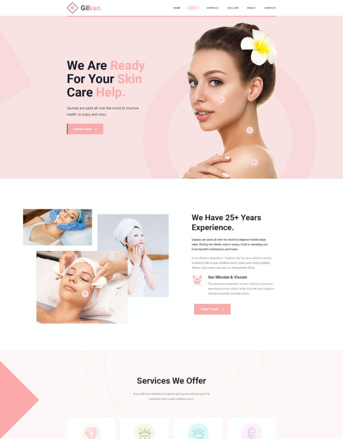 皮肤健康管理APP UIdesignshidai_ui241