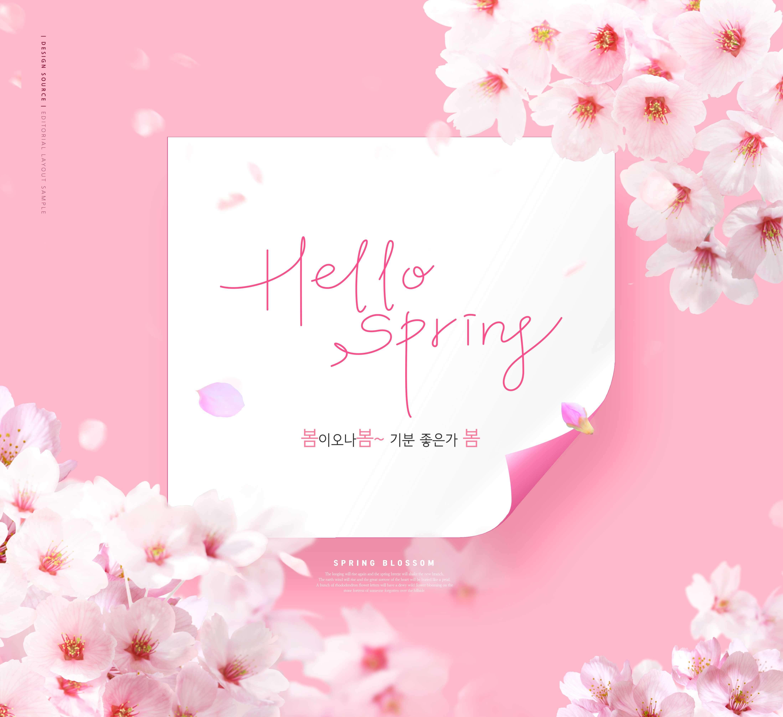粉色花卉元素春季情人节520七夕海报设计designshidai_haibao43
