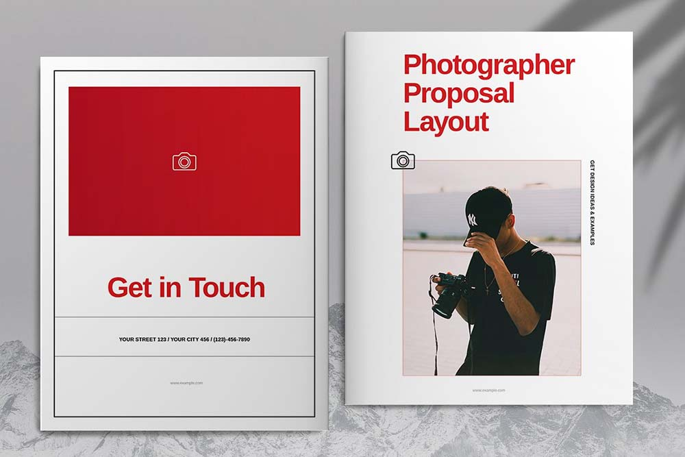 摄影图册提案宣传册设计模板designshidai_yj610