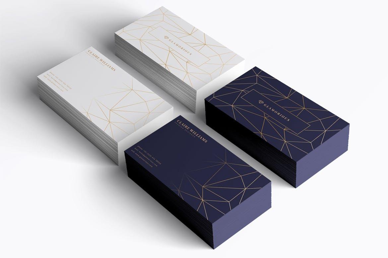 时尚高端轻奢风格的房地产名设计设计模板designshidai_yj635