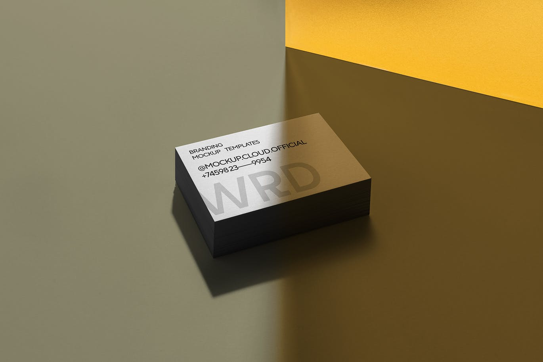 时尚高端专业的高品质品牌VI设计样机展示模型mockups designshidai_yj680