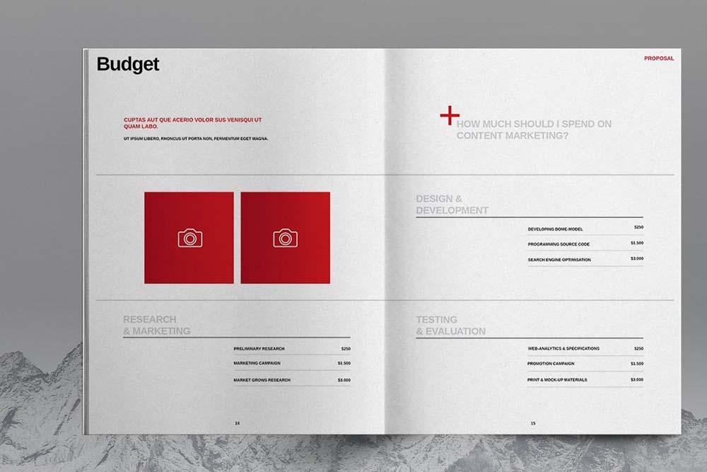 商业项目规划宣传册杂志设计模板designshidai_yj615
