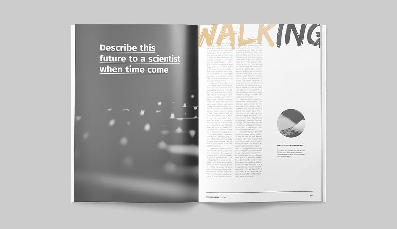 简约时尚高端优雅多用途的宣传册画册杂志设计模板designshidai_yj626