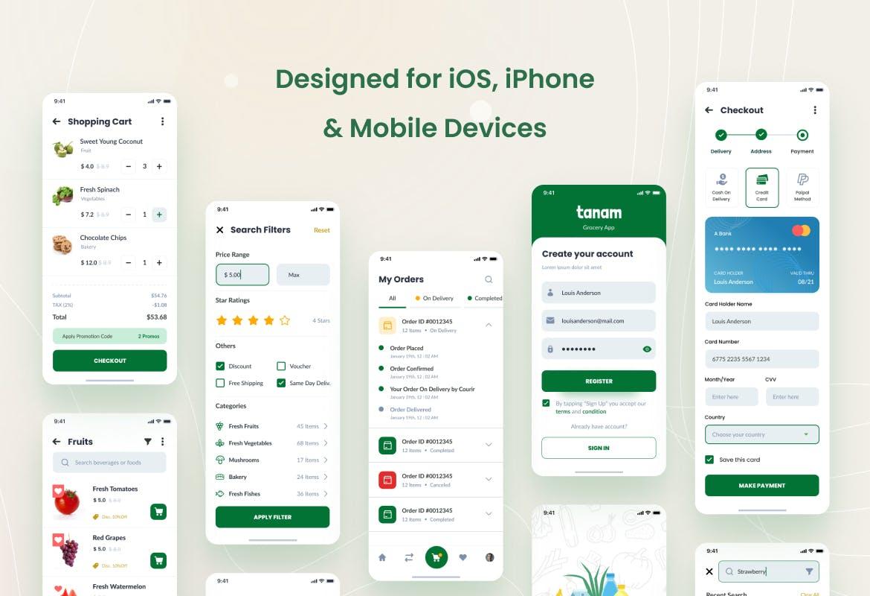 电商APP iOS应用程序设计模板UI designshidai_ui210