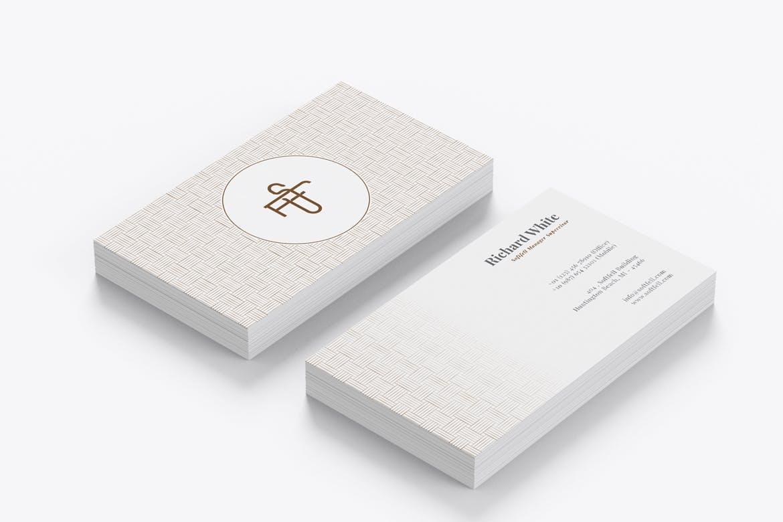 豪华商业的名片设计模板Vol.3 designshidai_yj625