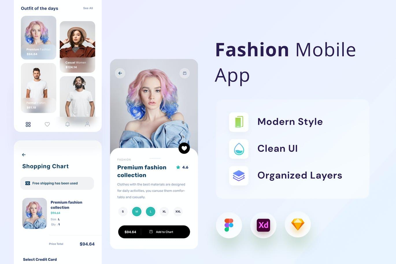 时尚高端多用途的高品质APP UI designshidai_ui309