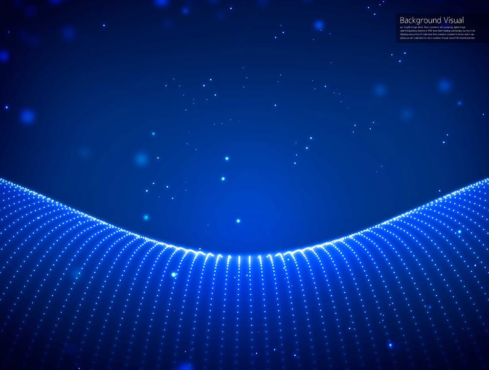 蓝色线点科技视觉背景图素材 designshidai_beijing142
