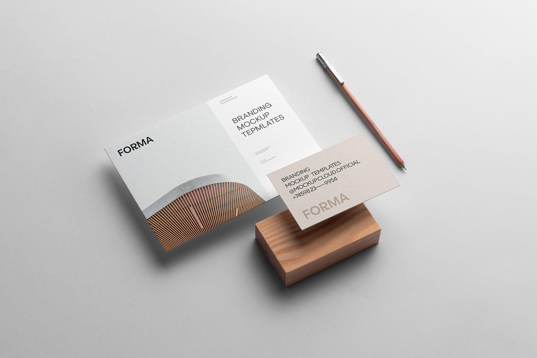 高端时尚多用途的高品质品牌VI设计样机展示模型mockups Vol.2 designshidai_yj711