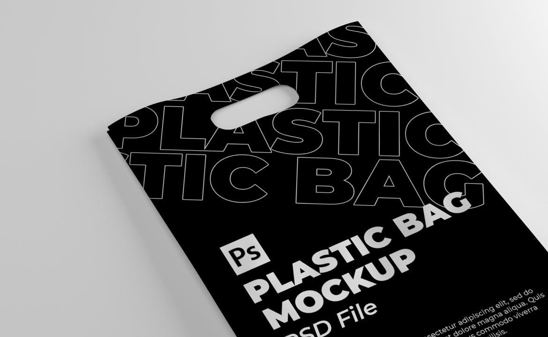 高端的塑料袋展示模型designshidai_yj754