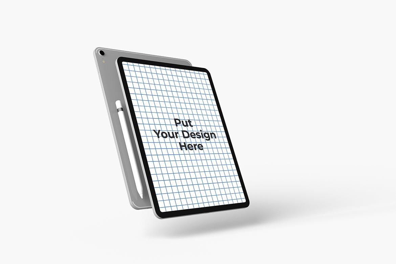 高端平板电脑与智能笔展示样机designshidai_yj755