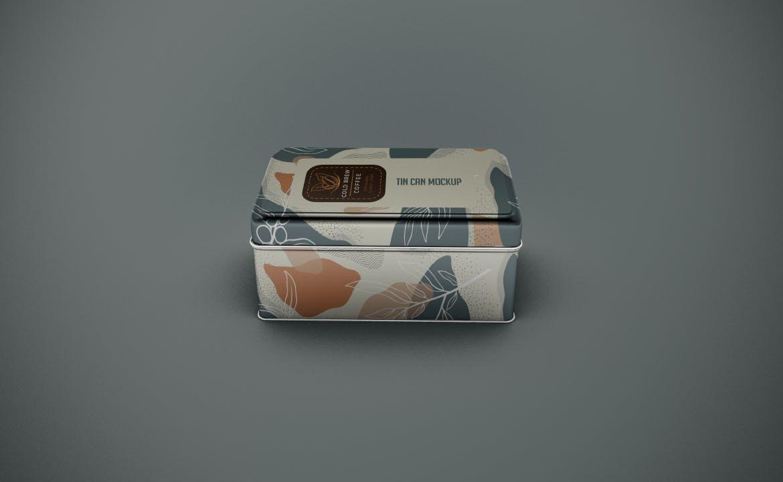 复古高端金属盒产品模型designshidai_yj758