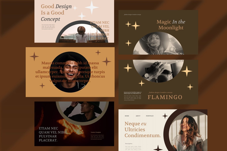 优雅时尚高端多用途的高品质powerpoint幻灯片演示模板designshidai_ppt0164