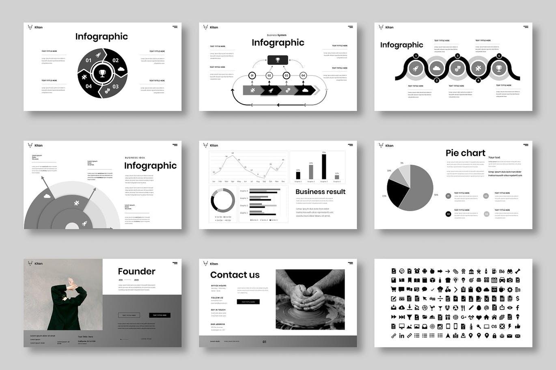 高端时尚专业的高品质商业商务powerpoint幻灯片演示模板designshidai_ppt0165