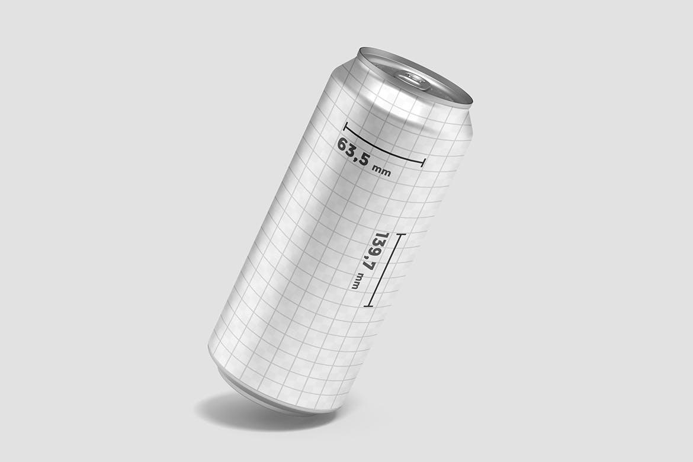 易拉罐汽水饮料包装样机designshidai_yj739