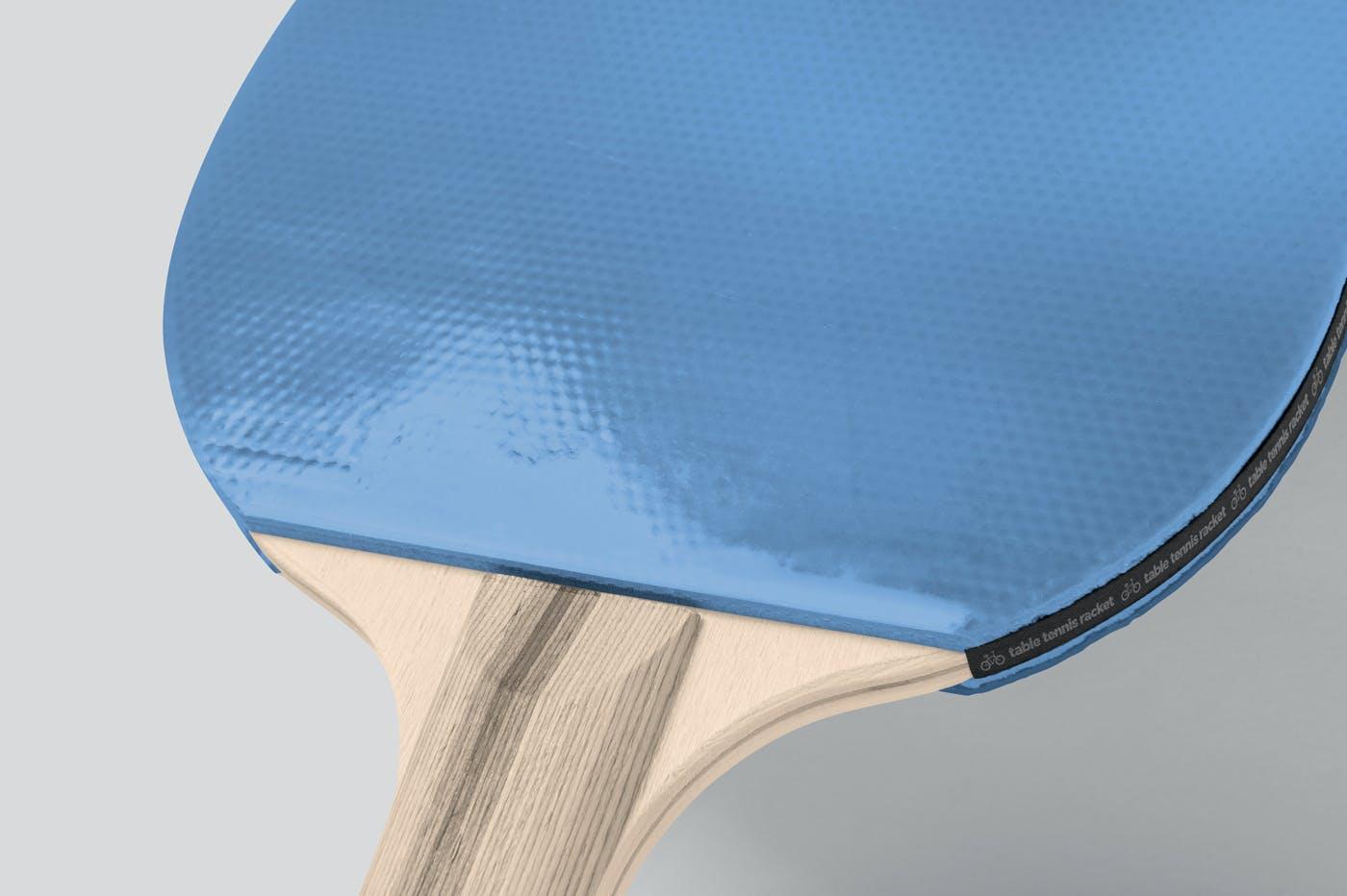 经典逼真的乒乓球拍品牌设计产品模型designshidai_yj747