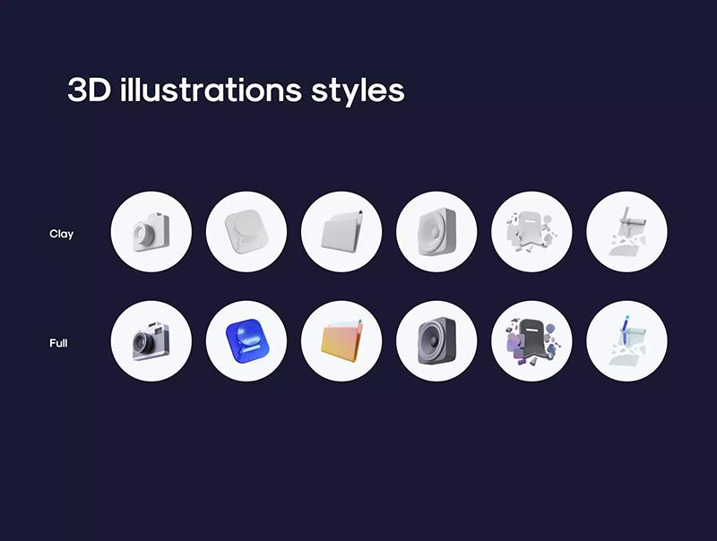 博客/文章/社交交流App应用程序UI套件designshidai_ui277