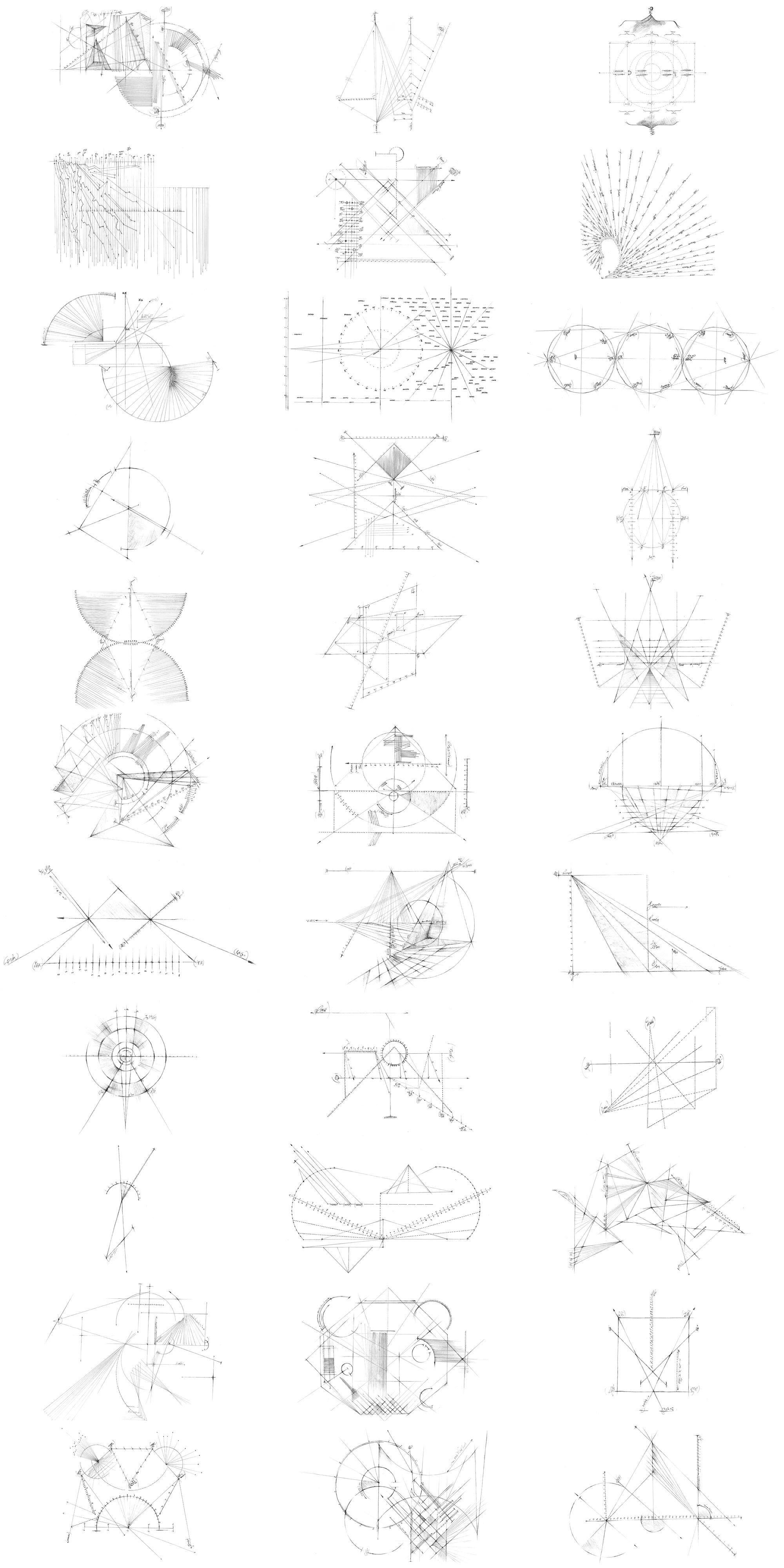 高质量32个技术线条绘图PS笔刷下载designshidai_bishua076