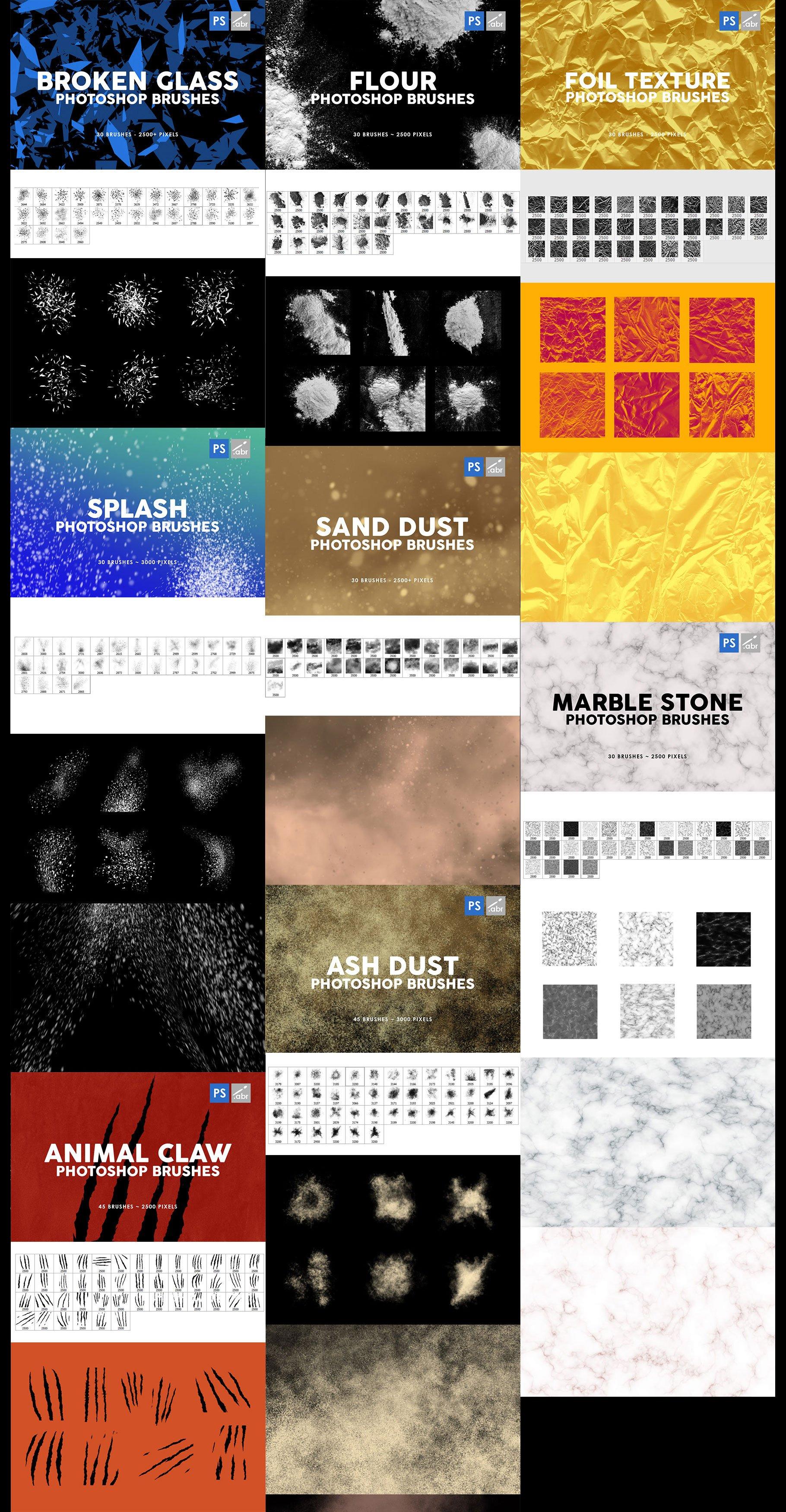 3000个Photoshop笔刷ps笔刷印章笔刷巨无霸插件套装designshidai_bishua064