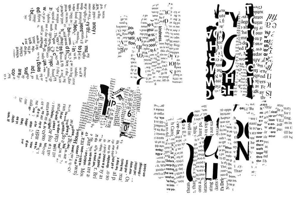 时尚抽象主义文字拼贴叠加特效艺术Photoshop笔刷designshidai_bishua041