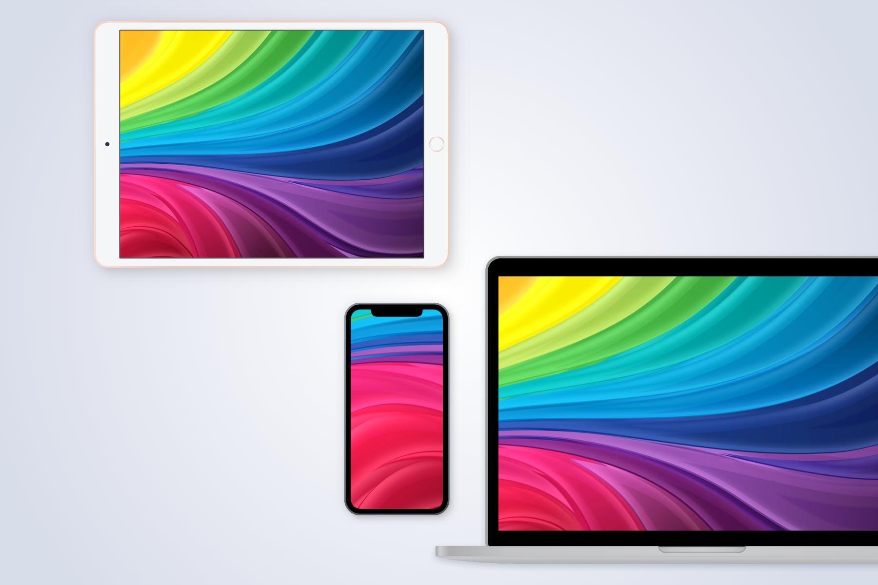 高端智能苹果设备网站手机样机designshidai_yj781