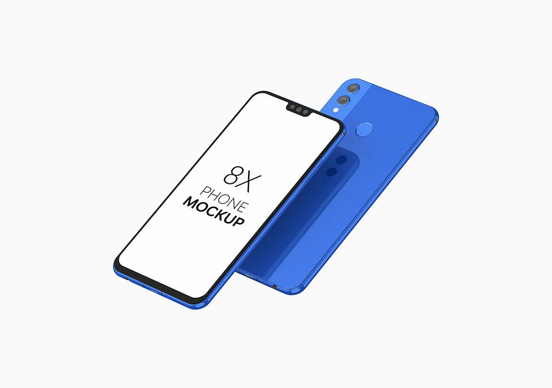 8X高端智能手机产品样机designshidai_yj799