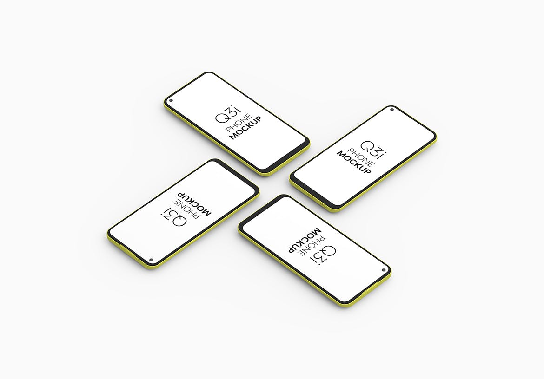高端智能Q3i手机模型designshidai_yj801