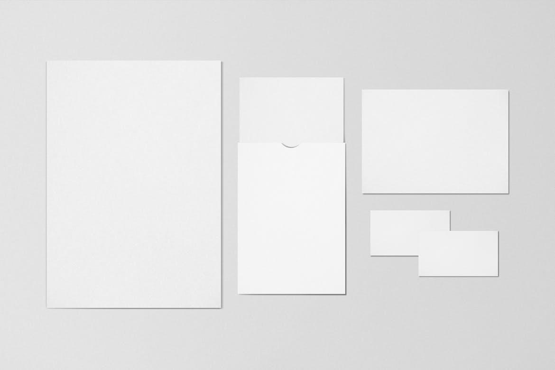 高端商务商用卡片VI产品样机 designshidai_yj814