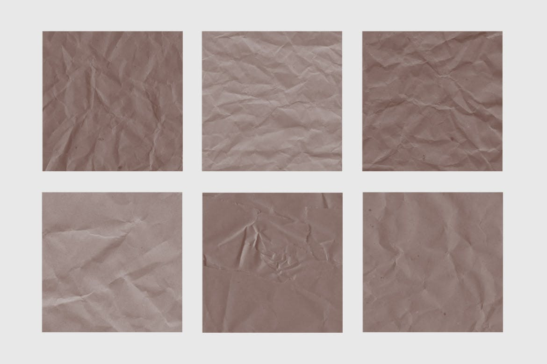 高质量30种折皱的肌理纸张PS笔刷designshidai_bishua062