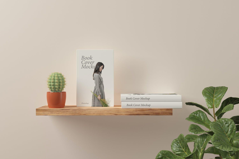 简约清新书籍封面设计模型 designshidai_yj809