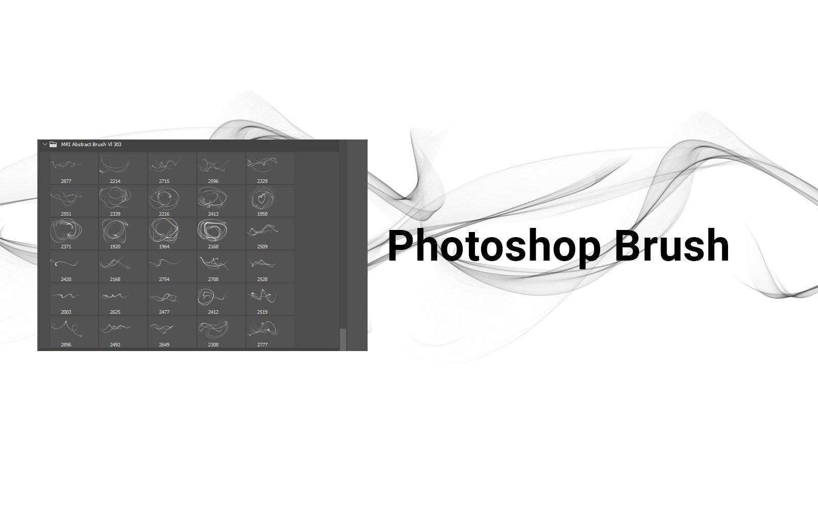 创新多用途背景透明PNG彩色线条抽象ps笔刷designshidai_bishua038